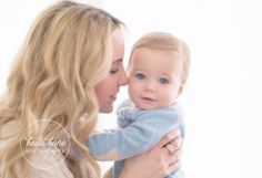 Posh Poses   Baby Photography   Mama & Baby   Handsome Little Devil   Blue Sweater   Blue Eyes   LOVE This Look #heidihope