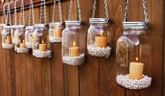 Another Wonderful DIY for You! The Hanging Mason Jar Lanterns!