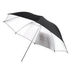 5x SCLS New 102 cm/40inch studio Photo Strobe Flash light reflector Black Silver soft umbrella #Affiliate