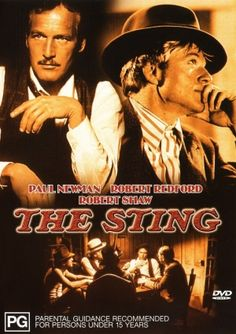 The Sting - Robert Redford & Paul Newman One of the best movies ever. Paul Newman, See Movie, Movie Tv, Dramas, I Love Cinema, Movies Worth Watching, Robert Redford, Cinema Posters, Chef D Oeuvre