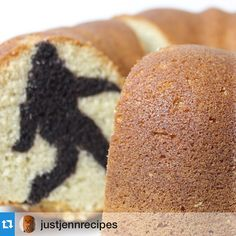 #Repost @justjennrecipes: I hid Bigfoot inside a bundt cake because where else would he be? Recipe: http://nerdi.st/BigfootBundt