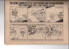 Gustave Verbeek was an illustrator and cartoonist, best known for his newspaper cartoons in the early 1900s featuring an inventive use of word play and visual storytelling tricks !-6 then turn it round and continue 7-12 ...think about it ..1 becomes 12, 2 becomes 11 ... incredible, absolutely incredible.