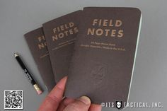 ITS Embossed Field Notes – Traveling Salesman Edition    From the same great company as our original ITS Stamped Field Notes Memo Books, we bring you the special limited-edition Traveling Salesman Field Notes!    We've also included an ITS golf pencil with each three-pack so you'll always have something to jot your notes down with.