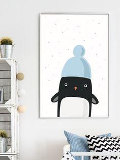 Digitaldruck - Pinguin Peppi \\ artprint din a4 - ein Designerstück von whatevershop bei DaWanda