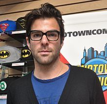 Zachary John Quinto (born June 2, 1977) is an American actor and producer. Quinto grew up in Pennsylvania and was active in high school musical theater. In the early 2000s, he guest starred in television series and appeared in a recurring role in the serial drama 24 from 2003 to 2004. In 2006,