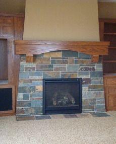 fireplace slate. slate fireplace Green Slate Fireplace Surround  Bodie Built Pinterest