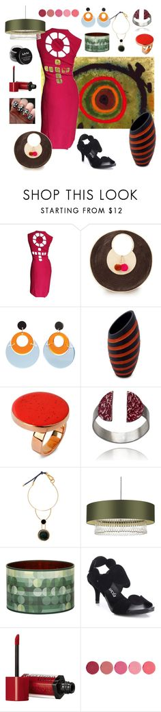 """""""Circling with Joan Miro"""" by christined1960 ❤ liked on Polyvore featuring Miró, Sophie Anderson, Toolally, NOVICA, STELLA McCARTNEY, Marni, Heathfield & Co., Claire Gaudion, Pedro García and Bourjois"""
