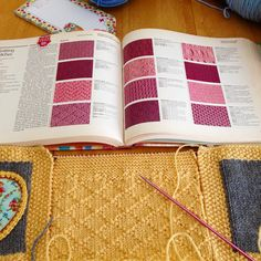 It's going to be interesting to see where my idea goes... I'm never been this free with #knitting before.