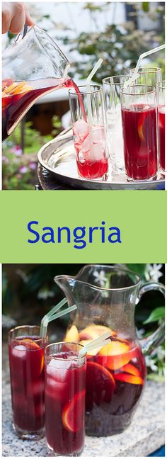Sangria – The perfect summer time drink which is so easy to make.