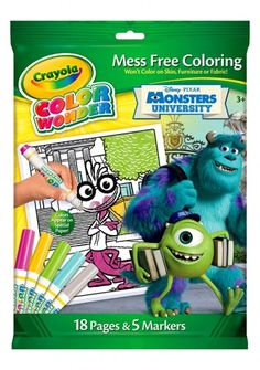 Monsters University Color Wonder