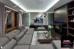 Salon styl Nowoczesny - zdjęcie od Intellio designers projekty wnętrz - Salon…