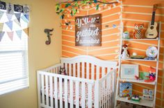 fox theme nursery with woodland decor: you are our greatest adventure!