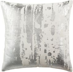 Safavieh Metallic Splatter Throw Pillow