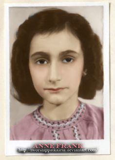 Rare Photo of Anne Frank by Livadialilacs.deviantart.com on @deviantART