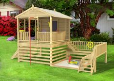 The Kidsworks #fort has awesome spaces for get outdoor play. The kids will love it!