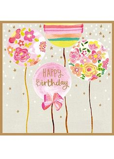 49 Trendy birthday balloons pictures inspiration baby girls - the Best of Everything Happy Birthday Wishes Cards, Happy Birthday Flower, Birthday Blessings, Happy Birthday Quotes, Happy Birthday Images, Birthday Pictures, Birthday Cards, Birthday Memes, Balloon Pictures