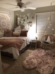 Room Design Bedroom, Girl Bedroom Designs, Small Room Bedroom, Room Ideas Bedroom, Home Room Design, Master Bedroom, Budget Bedroom, Bedroom Inspo, Master Suite