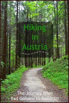 Go on a village to village hike from Bad Goidern to Hallstatt in the beautiful Salzkammergut region in Austria.
