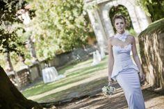 Стильное свадебное платье. Дизайн и пошив под заказ. / Stylish tailor-made wedding dress.