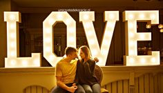 duży napis love