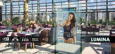LUMINA retail kiosk and digital signage at The Mall | Flickr - Fotosharing!