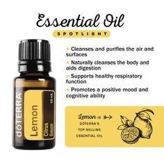 Lemon Essential Oil spotlight