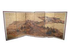 Japanese Screen - Six Panels 1