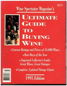 Ultimate Guide to Buying Wine 1995 Edition >>> Click on the image for additional details.