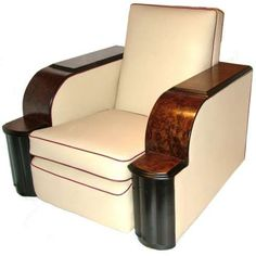 Art Deco 1930s chair #artdecofurniture