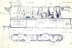 Vintage Star Wars Blueprint for Mos Eisley / Interior Cantina (c.1977) N8