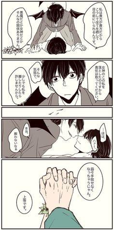 【デビめが漫画】「もしもの話」(おそ松さん)