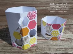 Variation on Stampin' Up!'s June My Paper Pumpkin kit - Stamp Your Art Out!