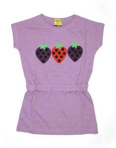 Paarse aardbei-jurk - DUNS