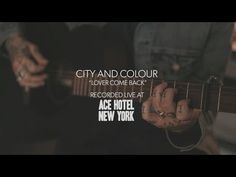 Dallas Green-City and Colour ACOUSTIC Lover come back. It's like buttah