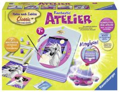 Ravensburger 28546 – Malen nach Zahlen: Fantastic Atelier | Your #1 Source for Toys and Games
