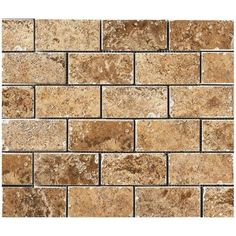 MARAZZI Montagna Belluno Noce 12 in. x 12 in. x 8mm Porcelain Mosaic Floor and Wall Tile-UGA4 at The Home Depot