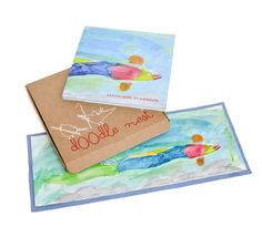 Doodle Nest art books -- the perfect way to preserve your children's art