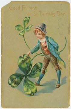 Vintage St. Patrick's Day Postcard ca. 1910