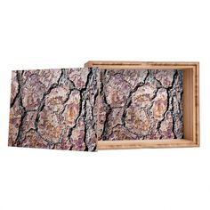 Lisa Argyropoulos Rugged Bark Storage Box | DENY Designs Home Accessories