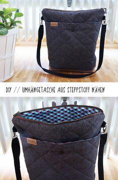 binedoro: Nähen ⎟ Meine neue Tasche – ein Spontanprojekt mit einem SnapPap-Tipp