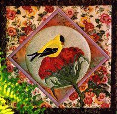 Free Applique Quilt Patterns | ... applique quilt pattern by pine meadow designs machine applique