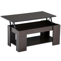 Topeakmart Modern Wood Lift Up Top Coffee Table With Under Storage Shelf  Espresso U003eu003eu003e Read More Reviews Of The Product By Visiting The Link On The  Image.