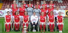 Arsenal Ladies FC (it's not just a mans sport!)