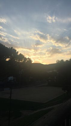Sunset at Can Rafart