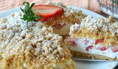 New York cheesecake al limone Sweet Recipes, Cake Recipes, Dessert Recipes, Good Food, Yummy Food, Summer Cakes, Food Fantasy, Strawberry Desserts, Italian Desserts