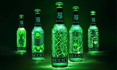 Beck's Scratchbottle Limited Edition on Packaging of the World - Creative Package Design Gallery