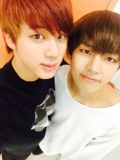 BTS Jin & V