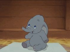 Disney. Me *giggling*: Dumbo is so cute! I love him and his cute big ears.