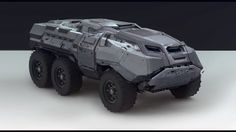 Vehicle for Imagine FX 76, Sam Brown on ArtStation at https://www.artstation.com/artwork/g2Y8Q
