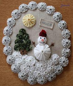 La couture - le patch - (page - Les passions de Fabric Christmas Ornaments, Christmas Mason Jars, Christmas Sewing, Handmade Ornaments, Christmas Deco, Handmade Christmas, Snow Crafts, Felt Crafts Diy, Holiday Crafts